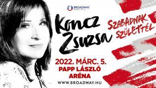 KONCZ ZSUZSA KONCERT 2021 NEW DATE