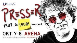 PRESSER – 1507 és 1508.. koncert