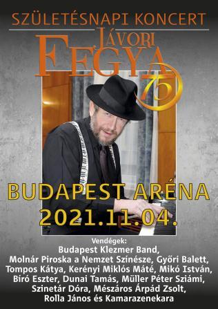 JÁVORI FEGYA 75. Születésnapi koncert