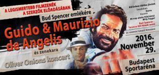 Guido & Maurizio de Angelis és zenekara Bud Spencer emlékére