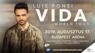 Luis Fonsi – Vida Tour 2019