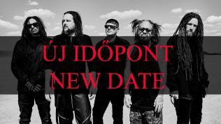 Korn NEW DATE