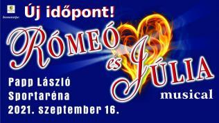 Rómeó és Júlia - musical 2021