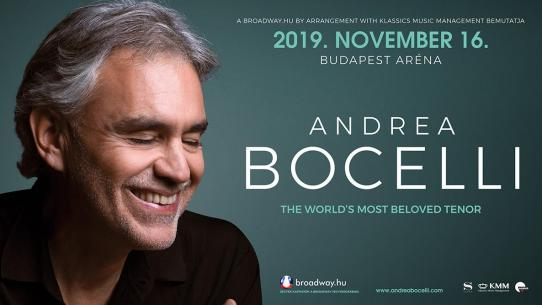 ANDREA BOCELLI 2019