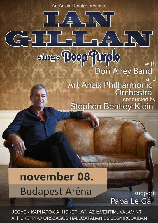 Ian Gillan sings Deep Purple