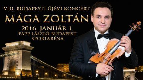 MÁGA ZOLTÁN Budapesti Újévi Koncert 2016