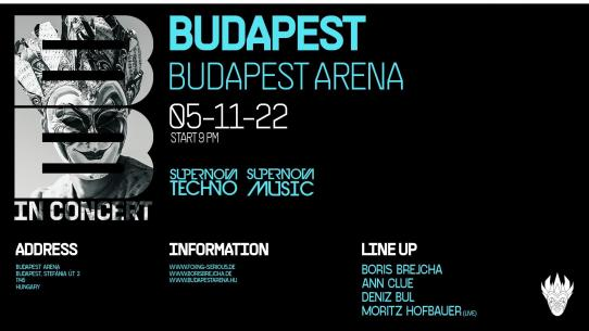 Supernova Techno pres. The Boris Brejcha Showcase 2020