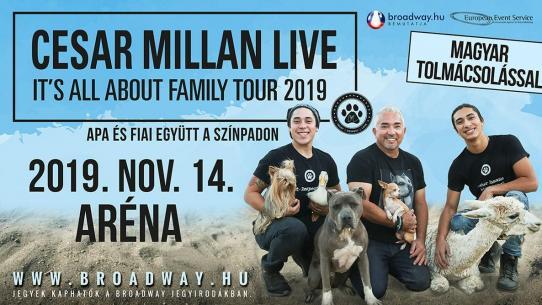 CESAR MILLAN LIVE - 2019