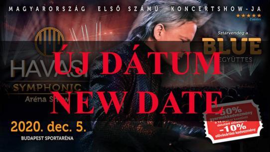 HAVASI Symphonic Aréna Show 2021 ÚJ DÁTUM