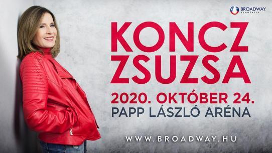 """KONCZ ZSUZSA KONCERT - """"SZÓLJON A DAL"""""""