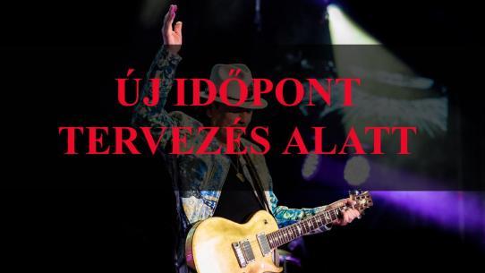 Carlos Santana Új időpont